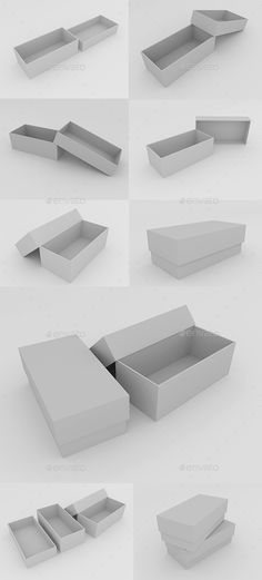 Boxes - Objects #3D #Renders Download here: https://graphicriver.net/item/boxes/19973889?ref=alena994