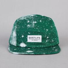 The Quiet Life Cosmos 5 Panel Cap Green