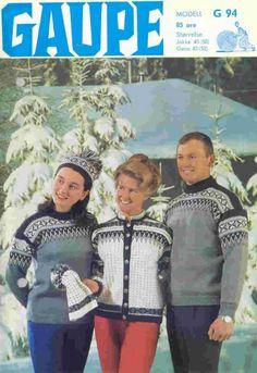 Garnmannen G 94 Norwegian Knitting, Winter Garden, Jumpers, Movies, Crafts, Craft Ideas, Threading, Manualidades, Films