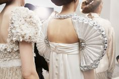 BACKSTAGE OF THE SHOW  Spring-Summer 2016 Haute Couture collection