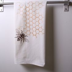 bee towels!   My name Debra means the honeybee