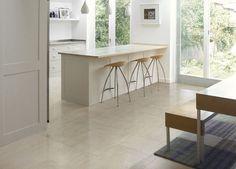 Porcelain stoneware floor tile: stone look PIERRE GRIS Rex Ceramiche Artistiche