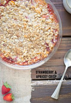 almond crumble strawberry cream cheese crumble tart apricot almond ...