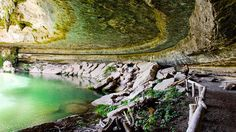 Austin Texas, Forgo the crowds at Barton Springs and instead cool off at Hamilton Pool Preserve....