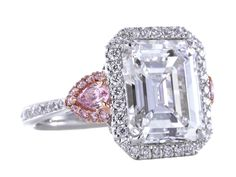 Spectacular Emerald Cut Diamond Ring GIA 5.26cts D Internally Flawless image 2