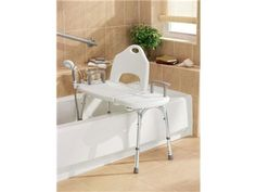 Moen® Deluxe Tool-Free Transfer Bench w/ Accessories INCLUDED