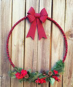 Christmas Ribbon, Christmas Time, Christmas Wreaths, Winter Wreaths, Christmas Centerpieces, Outdoor Christmas Decorations, Christmas Projects, Christmas Crafts, Diy Weihnachten