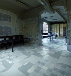 60x60 patchwork vloertegels design met grafische patronen (37) Tegelhuys
