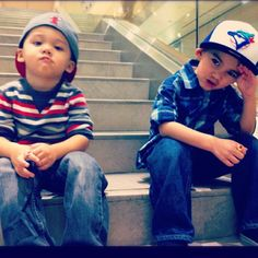 Asian gangster kids. Swag. So cute <3 ^__^