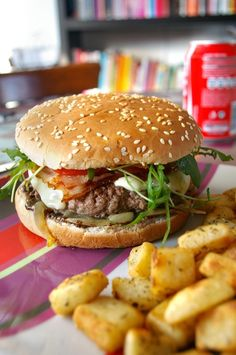 Discover recipes, home ideas, style inspiration and other ideas to try. Hamburger Pizza, Hamburger Meat Recipes, Kimchi, Grilling Recipes, Cooking Recipes, Veggie Recipes, Beef Recipes, Vegetarian Recipes, Loose Meat Sandwiches