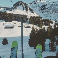 #snow #ski #mountains