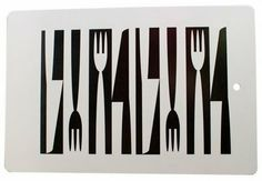Love this pattern - wouldn't it make a great wall hanging for a restaurant?