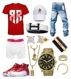 """BPB 17"" by blvcksymba on Polyvore featuring Calvin Klein, men's fashion and menswear"