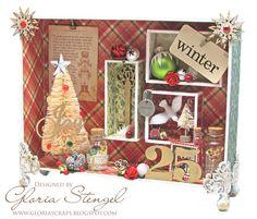 Scraps of Life: Gina's Designs - Christmas Composition Box