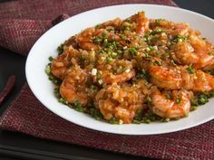 Stir-fried Shrimp with Hot and Spicy Garlic Sauce