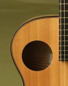 Hemken Guitar: Big Leaf Maple Hybrid