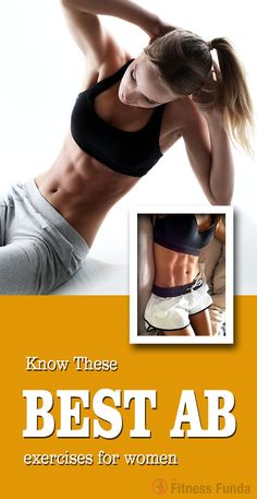 Know These Best ab exercises for women