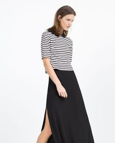 ZARA - WOMAN - TOP WITH PETER PAN COLLAR