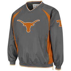 Texas Longhorns Men's Charcoal Hardball Pullover Jacket