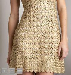 934 Melhores Imagens De Vestidos Em Crochê E Gráficos Curto