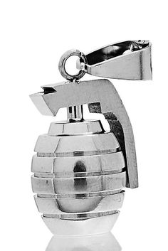 Hey, I found this really awesome Etsy listing at https://www.etsy.com/listing/268888450/stainless-steel-hand-grenade-pendant