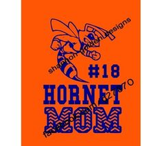 Hornet Mom Chevron Tee.  - All items preshrunk, unisex cut. Price for Small-XLarge. Larger sizes available at an additional cost.  Other Color Combinations/Teams Available.  Available Formats: Front Left Chest $14.99 Full Front $21.99 Front Left Chest & Back $24.99 Long Sleeve $29.99 Hoodie $34.99  Also Available in this design: Hornet DAD, GRANDMA, NANA, Etc.    Shannon Golden Designs - Roanoke Rapids, NC