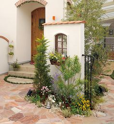 Backyard Privacy, Backyard Garden Design, Backyard Landscaping, Garden Oasis, Home And Garden, Outdoor Rooms, Outdoor Gardens, Japanese Plants, Tuscan Garden
