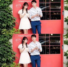 Kim so hyun y taecyeon Korean Drama Best, Korean Drama Movies, Korean Actors, Korean Idols, Bring It On Ghost, Lets Fight Ghost, Kdrama, Queen Of The Ring, Age Of Youth