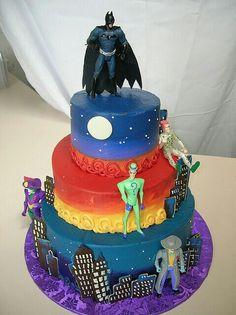 ... Bat Man Cake ...