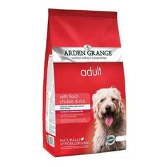 Arden Grange Super Premium Dog Food Adult: with fresh chicken & rice - After trying a number of different brands, we have settled on feeding our dogs this. All four of the dogs are thriving on it. Quality food at a reasonable price! Chicken For Dogs, Fresh Chicken, Chicken Rice, Dog Food Ratings, Dog Food Reviews, Dog Food Comparison Chart, Hypoallergenic Dog Food, Dog Food Recall, Dog Food Container