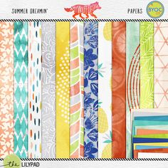 Summer Dreamin' Paper Pack Amy Wolff Designs
