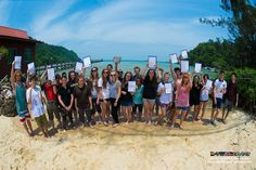 PADI Open Water divers now! Awesome achievement everyone! Don't forget your dive skills (especially buoyancy) to care for the environment! :D
