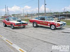 photos of sox & martin drag cars | Sox And Martin 1968 And 1970 Barracudas