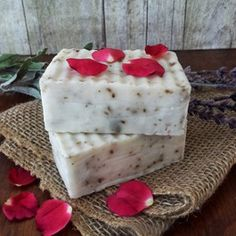 Items similar to Lavender Rosewood Soap on Etsy Lavender Garden, Natural Garden, Rosewood Essential Oil, Beauty Hacks, Beauty Tips, Essential Oils, My Etsy Shop, Soaps, Catalog