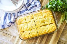 This Easy Mexican Cornbread recipe is soft, tender, and delicious! With only a few ingredients, it is as easy to make as it is delicious. Potluck Recipes, Mexican Food Recipes, Beef Recipes, Potluck Meals, Chicken Recipes, Easy Mexican Cornbread, Jiffy Cornbread Mix, Easy Family Meals