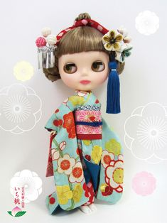 Kimono Blythe doll #blythe #doll