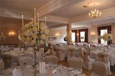 Wedding Reception in our Ballroom - Glen Yr Afon House Hotel
