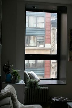 7 Tips To Help Gussy Up Your Living Space #refinery29  http://www.refinery29.com/decorating-ideas#slide14  Make use of neglected corners. — Got a deep windowsill or an awkward nook that's not quite big enough for real furniture? Stick a stool, pillow, and lamp there to create a quiet reading corner.
