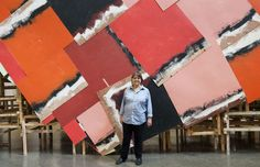 """Phyllida Barlow and """"dock"""", 2014 <br>Photo: J Fernandes, Tate Photography"""