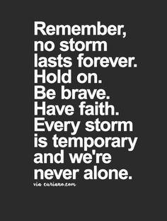 NEVER ALONE!!