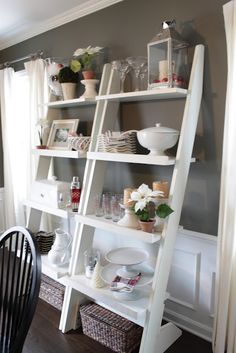 I am OBSESSED with this woman's house and mostly these shelves at the moment