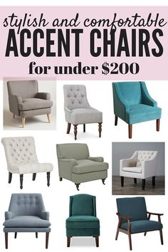 Ordinaire Affordable Accent Chairs: 20+ Stylish Chairs Under $200   Pinterest    Living Room Chairs, Budgeting And Living Rooms