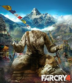 Far Cry 4 by Two Dots, via Behance
