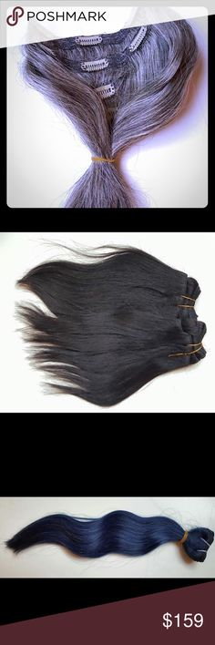 Hair Weave Boss Extensions I have everything you beautiful ladies need in Grey color clip ins,grey bundles,just about all colors don't have any wild colors just yet I have wholesale bundle deals,lace closures,tape ins and frontals.If you want to purchase my hair brand you need to order from my website ladies it's not hard to do.Im known everywhere and my hair is 100 percent virgin hair.Add me on my SNAPCHAT sexyfire4242 twitter diamond3838 Instagram Hairweavebossceo and second Instagram…