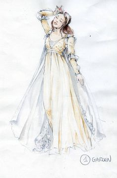 """Romeo & Juliet"" Costume Sketches"