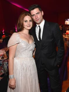 Lana Del Rey and Sean O'Pry at the 24th Annual Elton John AIDs Foundation Academy Award Party in West Hollywood #LDR