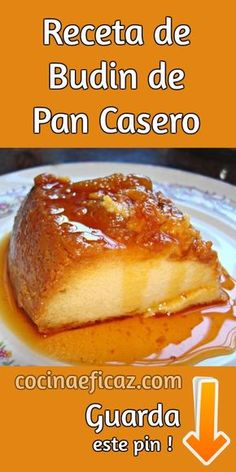 Pin on Recipes to make Mexican Food Recipes, Sweet Recipes, Dessert Recipes, Kitchen Recipes, Cooking Recipes, Healthy Recipes, Puerto Rican Bread Pudding Recipe, Easy Pudding Recipes, Mexican Pastries