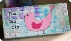Turn a Shoebox lid into a great instant canvas to decorate. Great idea for kid projects!