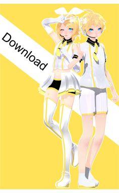 Tda Parade Dancer Len and Rin Download by Ohbey.deviantart.com on @DeviantArt