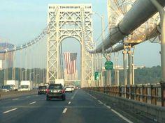 Fort Lee, Washington Heights, Hudson River, George Washington Bridge, Thing 1 Thing 2, New York City, September 11, Travel, Bridges